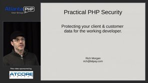 Practical Methods For Protecting Data Using PHP