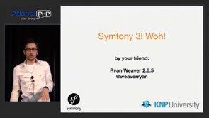 Symfony3 Is Coming - Minitalk