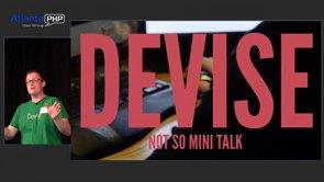Laravel-Based CMS, Devise - Minitalk