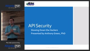 API Security - Slowing Down The Hackers