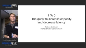 1 To 0 : The Quest To Increase Capacity And Decrease Latency