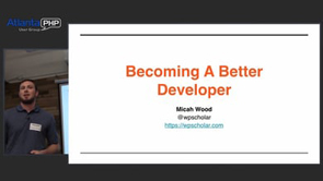 Becoming A Better Developer
