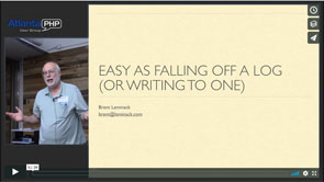 Easy As Falling Off A Log (Or Writing To One)
