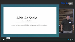 APIs At Scale Require More Than Fast PHP