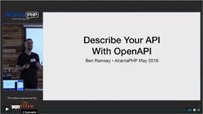 Describe Your API With OpenAPI