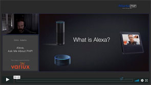Alexa, Ask Me About PHP!